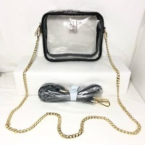 Clear Purse Transparent Crossbody Bag Clutch